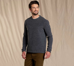Men's Breithorn Crew Sweater - Idaho Mountain Touring