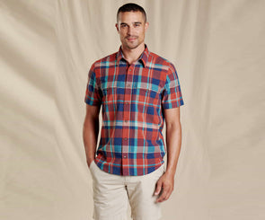 Men's Hookie Short Sleeve Shirt - Idaho Mountain Touring