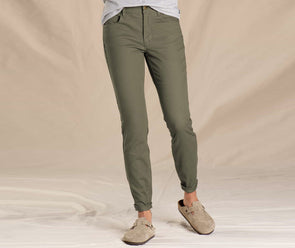 Toad&Co. Women's Earthworks 5 Pocket Skinny Pant - Idaho Mountain Touring