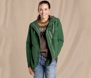 Toad&Co. Women's Forester Pass Parka - Idaho Mountain Touring