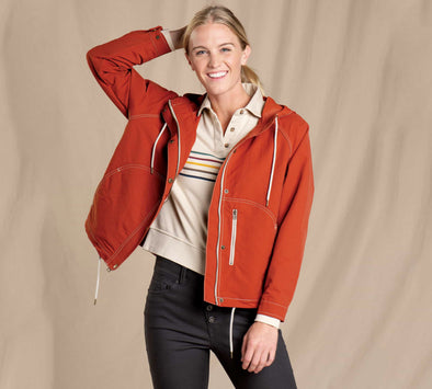 Women's Forester Pass Raglan Jacket - Idaho Mountain Touring