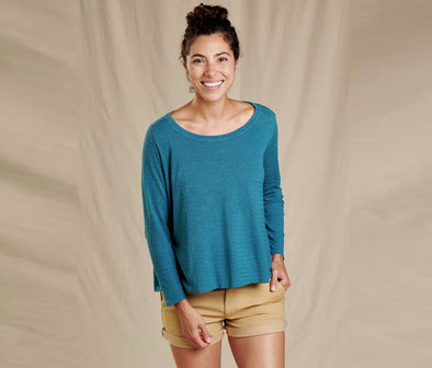 Women's Grom Swing Three Quarter Sleeve Tee