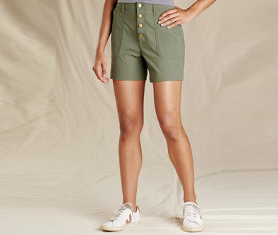 Toad&Co. Women's Rover High Rise Short - Idaho Mountain Touring