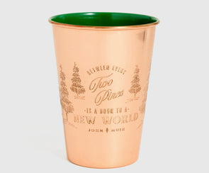 16oz Enamel Lined Copper Tumbler