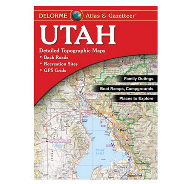 Misc Books and Media Utah Atlas and Gazetteer - Idaho Mountain Touring