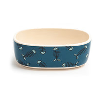 Load image into Gallery viewer, TRIXIE OVAL CAT DISH - Park Life Designs