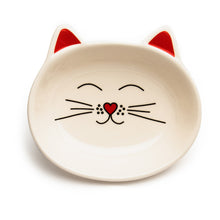 Load image into Gallery viewer, OSCAR CREAM CAT DISH