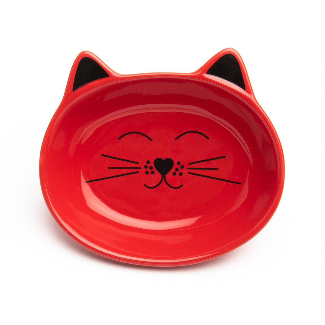 OSCAR RED CAT DISH - Park Life Designs
