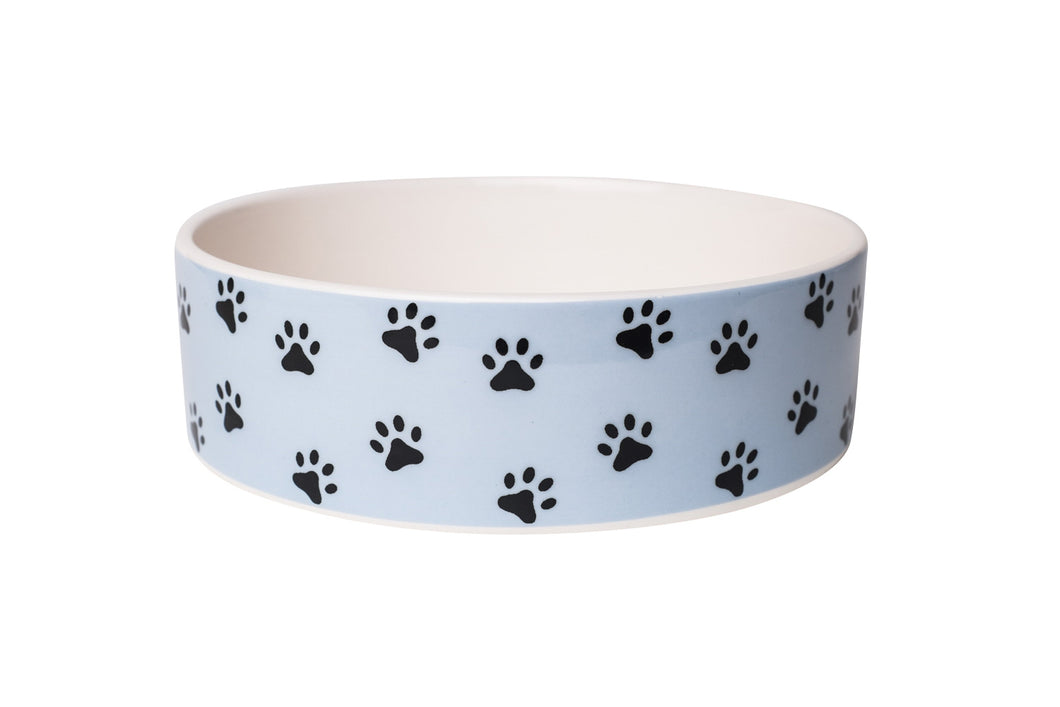 PAWZ BLUE PET BOWL