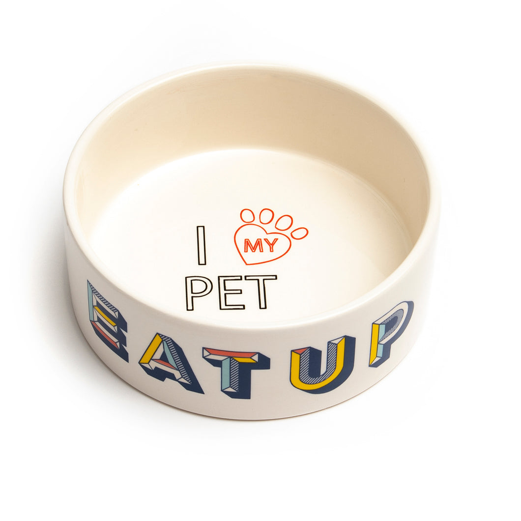 RETRO PET BOWL - Park Life Designs
