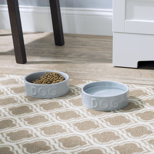 CLASSIC DOG GREY PET BOWL - Park Life Designs