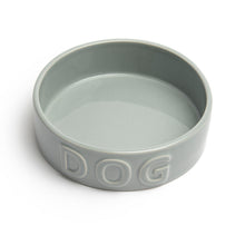 Load image into Gallery viewer, CLASSIC DOG GREY PET BOWL - Park Life Designs