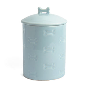 MANOR BLUE TREAT JAR - Park Life Designs