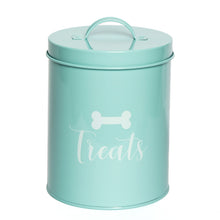 Load image into Gallery viewer, JASPER POWDER BLUE TREAT CANISTER