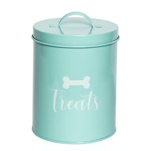JASPER POWDER BLUE TREAT CANISTER