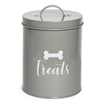 Load image into Gallery viewer, JASPER GREY TREAT CANISTER - Park Life Designs