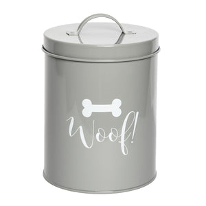 CASPER GREY TREAT CANISTER