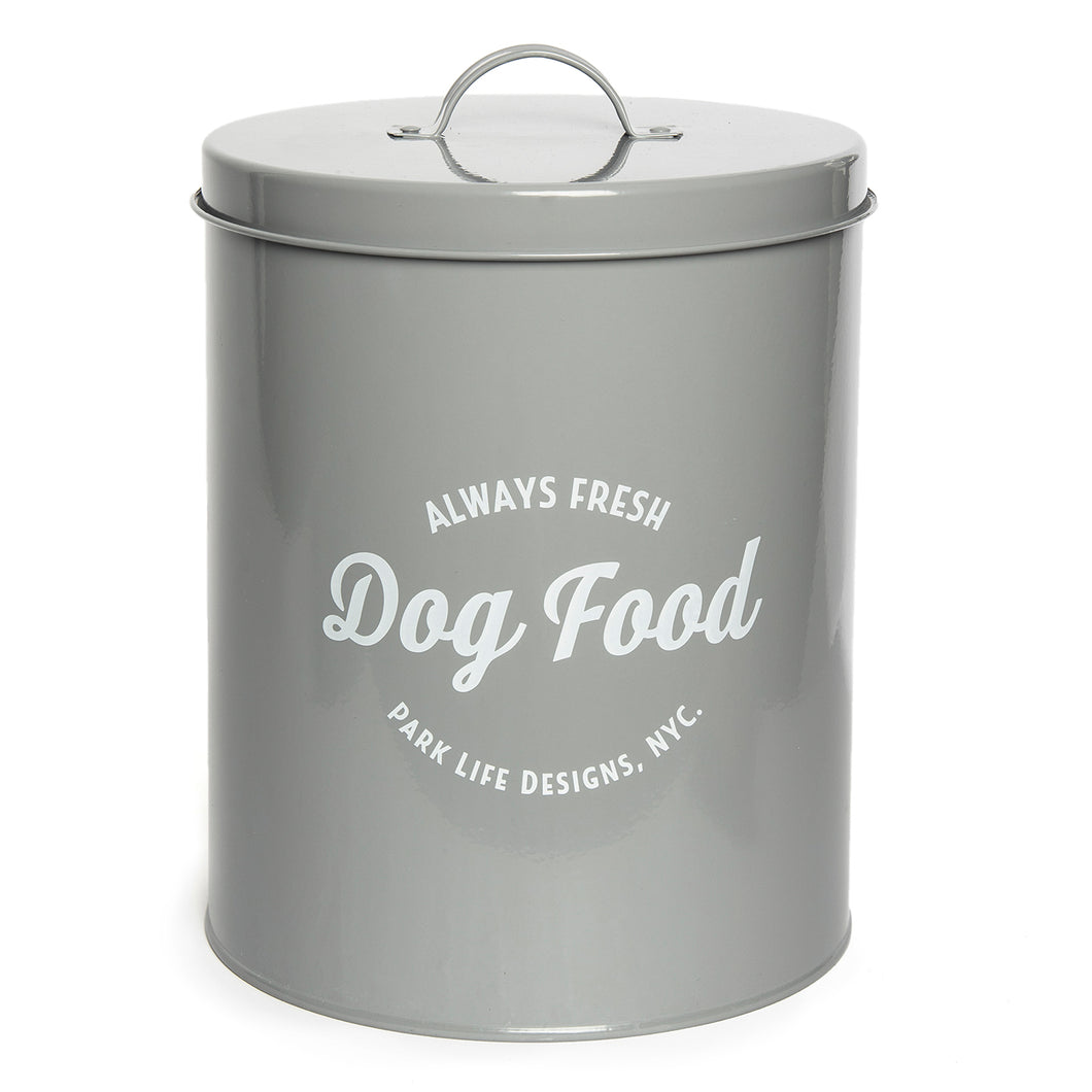WALLACE GREY FOOD STORAGE CANISTER - Park Life Designs