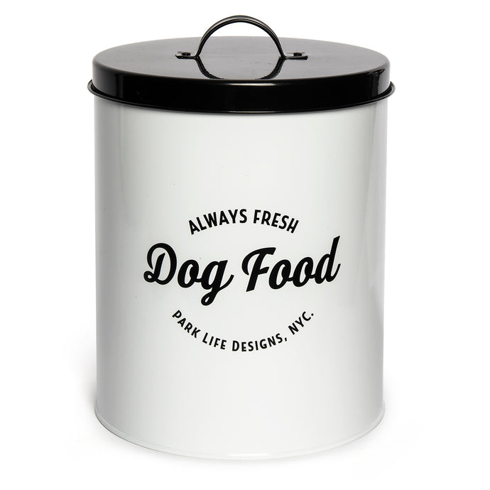 WALLACE WHITE FOOD STORAGE CANISTER