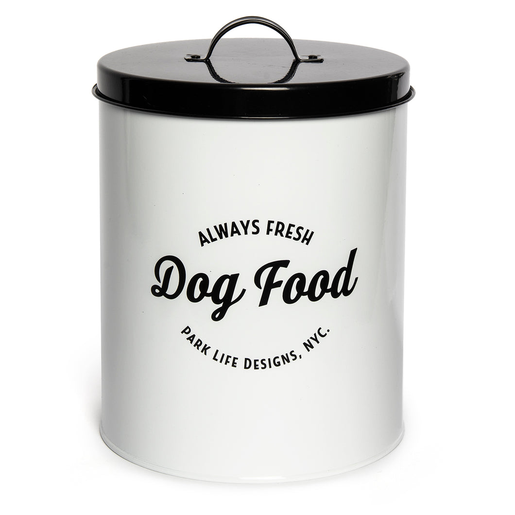 WALLACE WHITE FOOD STORAGE CANISTER - Park Life Designs