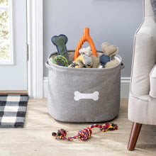 Load image into Gallery viewer, CAPRI GREY PET TOY STORAGE - Park Life Designs