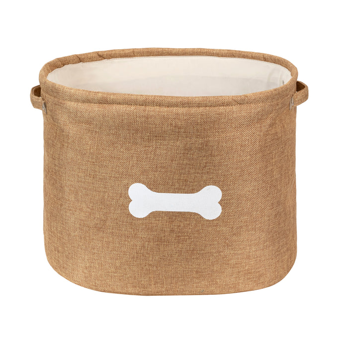CAPRI TAN PET TOY STORAGE - Park Life Designs