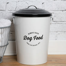 Load image into Gallery viewer, ANDREAS WHITE FOOD STORAGE CANISTER - Park Life Designs