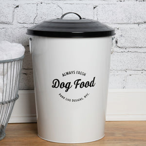 ANDREAS WHITE FOOD STORAGE CANISTER - Park Life Designs