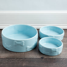 Load image into Gallery viewer, MANOR BLUE PET BOWL - Park Life Designs