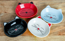 Load image into Gallery viewer, OSCAR WHITE CAT DISH - Park Life Designs