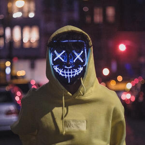 LED purge mask photo