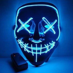 LED Purge Mask Blue