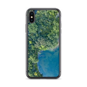 Michigan Summer Treetops - iPhone Case