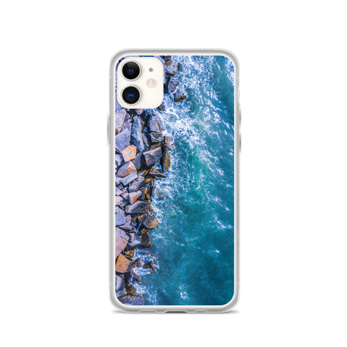 Boston Harbor Rocky Shore - iPhone Case
