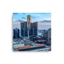 Load image into Gallery viewer, Detroit from Greektown - Canvas