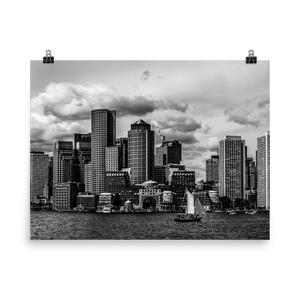 Boston Skyline - Print