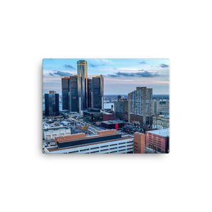 Detroit from Greektown - Canvas