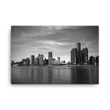Load image into Gallery viewer, Detroit Skyline - Canvas