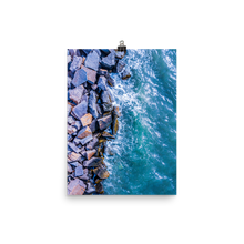 Load image into Gallery viewer, Boston Harbor Rocky Shore - Print
