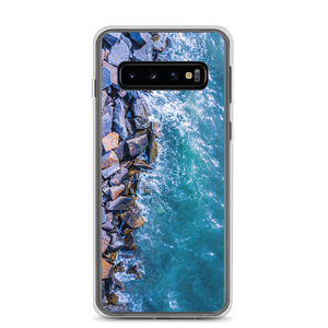 Boston Harbor Rocky Shore - Samsung Case