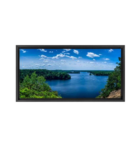 Huron National Forest - Framed Canvas