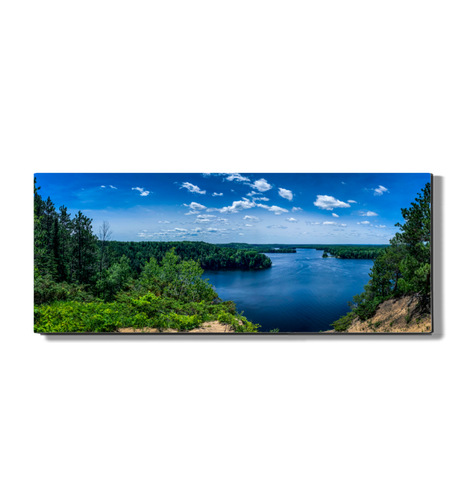 Huron National Forest - Metal Print