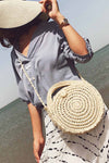 Round Rope Shoulder Bag