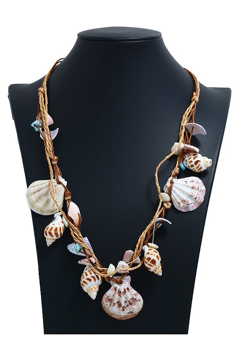 Hawaiian Style Handmade Seashell Bohemian Necklace