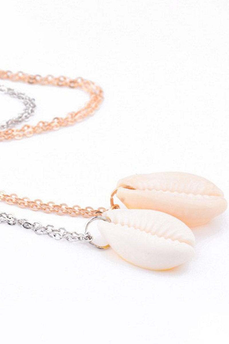 Bohemian Simple Beach Seaside Shell Necklace Chain