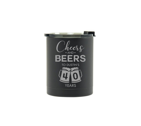 Cheers & Beers to 40 years - Birthday Tumbler
