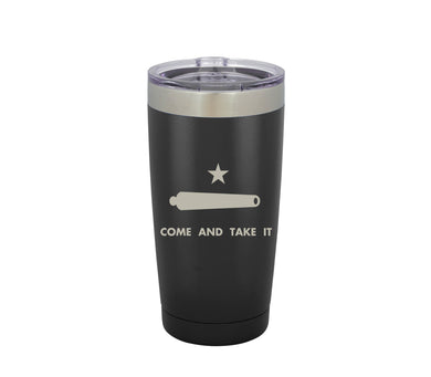 Don't Tread on Me / Come and Take It - Tumbler