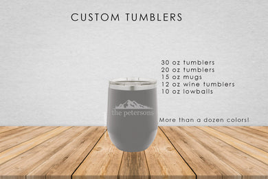 Mountain Range Tumbler