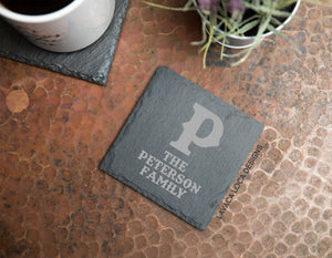 Ranch Brand Slate Coasters - Set of 6