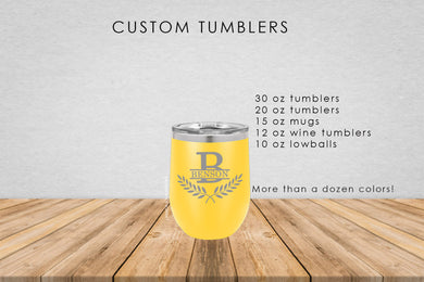 Laurel Wreath Tumbler